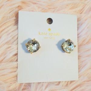 Kate Spade Small Ckear Gumdrop Earrings
